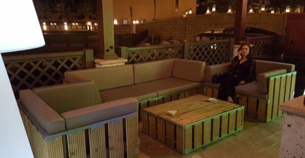 Ce Original Lounge Set Taupe Cushion Dubai Desert River2