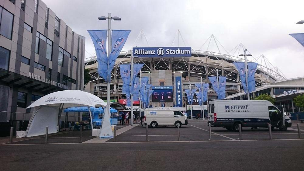 Hyundai A League Allianz Stadium Sydney