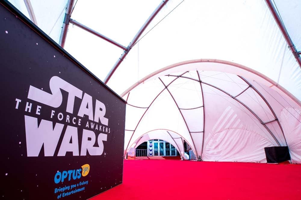 Star Wars Sydney Premiere