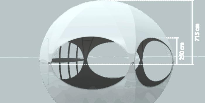 Hexadome Large